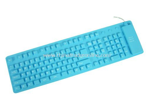109-key flexible keyboard