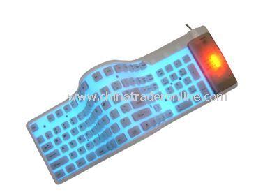109-key EL flexible keyboard