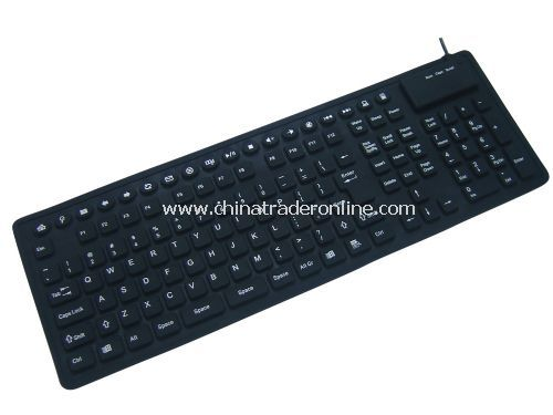 131-key multimedia flexible keyboard