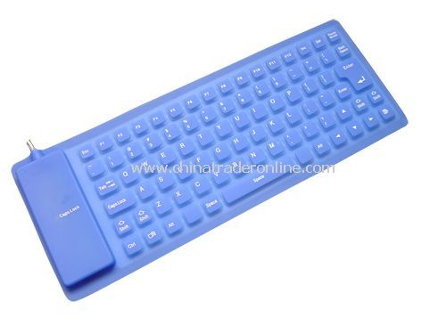 85-key flexible keyboard