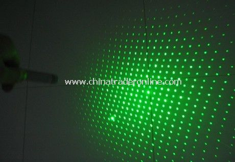 Green laser pointer with Star Cap