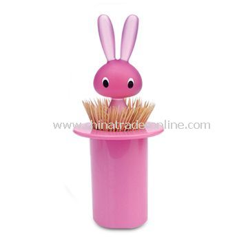 Bunny toothpick holder