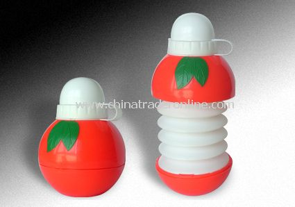 Collapsible Apple Bottles