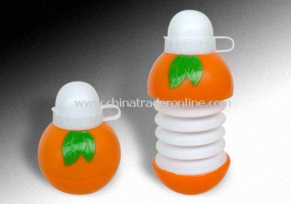 Collapsible Orange Bottles