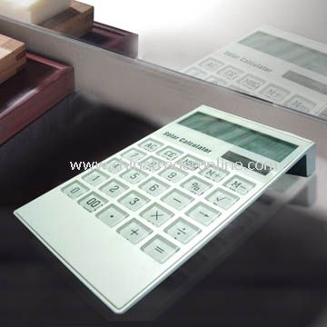 LCD Calender Solar Calculator World time and Alarm