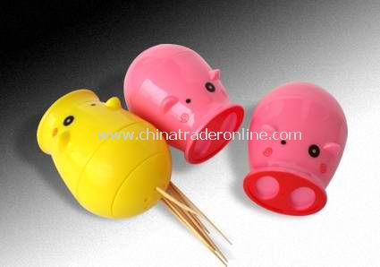 Pig ToothpickHolder