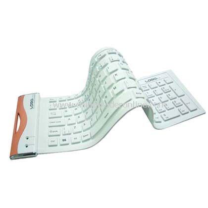 Ultra-slim Flexible Water-proof Keyboard