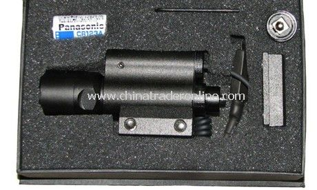5mw red laser with LED from China