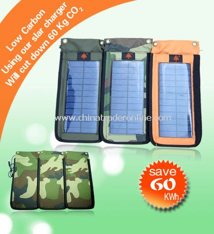 Bulit-up Solar Charger