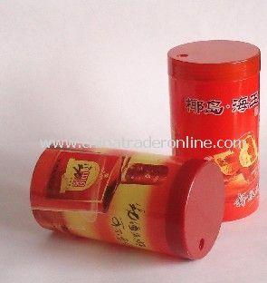 Ad toothpick tube