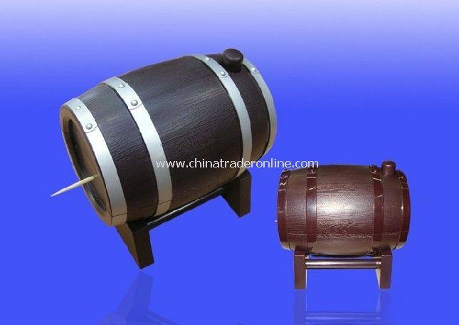Automatic toothpick barrel