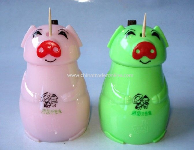Automatic toothpick tube piglets