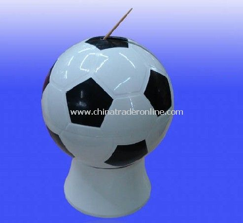 Football toothpick tube