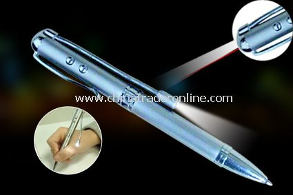 LASER PEN WITH LED LIGHT & FLEXIBLE TORCH