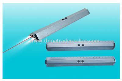 laser torch ruler(studying tools(ruler),laser card, laser card pointer with ruler and light)