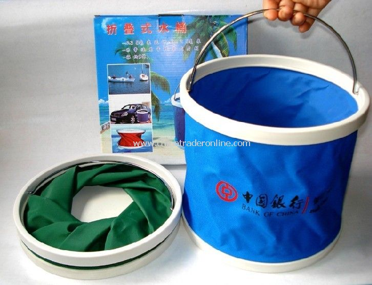 Folding bucket from China