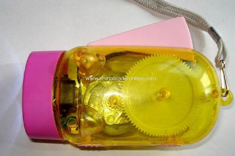 Transparent piggy flashlight