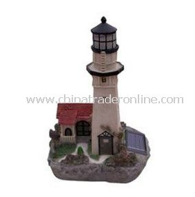 Solar House Light, Solar Resin Light, Solar Sculpture Light, Solar Decorative Light