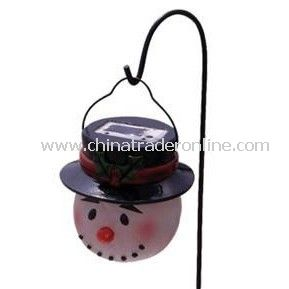 Solar Snow Man Light