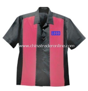 Camp Shirt - Port Authority Retro Camp Shirt, Cotton / Polyester