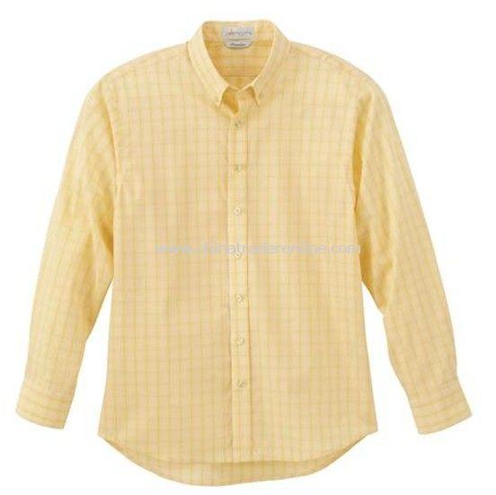 Dress Shirt - Mens Primalux Yarn Dye Plaid shirt