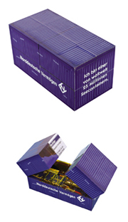 Magic Container Cube from China