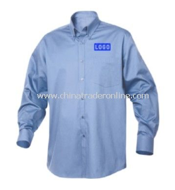 New Wave Long Sleeve Carter Stain Resistant Twill Mens Dress Shirt