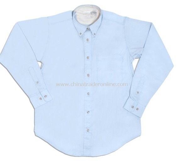 Shirt - Ladies, Munsingwear, Wrinkle Resistant Sanded Twill