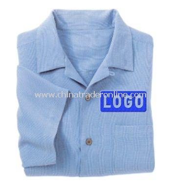 Shirt - Port Authority Signature Silk Blend Camp Shirt, Silk / Cotton