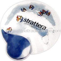 Aqua Wristrest Mousepad