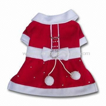 Christmas Pet Dog Skirt, Available in Different Sizes