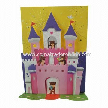 Greeting Card, Available in Various Designs and Sizes
