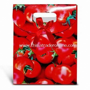 Paper Shopping Bag, Customized Designs are Welcome