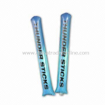 Promotional Bang Bang Noise Stick, Made of Polyethylene, Comes in Various Colors