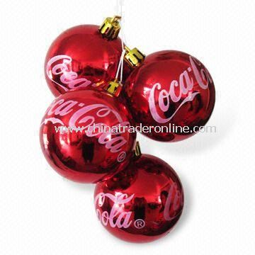 Shiny Christmas Balls, Available in Various Colors