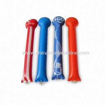 Thunder Bang Stick, Made of Polyethylene, Suitable for Promotions