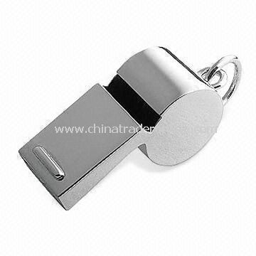 Aluminum Whistle, Non-toxic, OEM Orders are Welcome