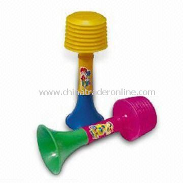 Cartoon Whistle for Party Decorations or Match Cheering, Made of PP or PE