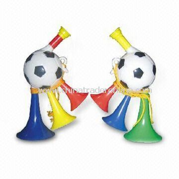 Football Fun Love Whistle, Made of Plastic, Available in Various Colors
