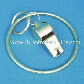 Jailer Key Chain Ring And Whistle