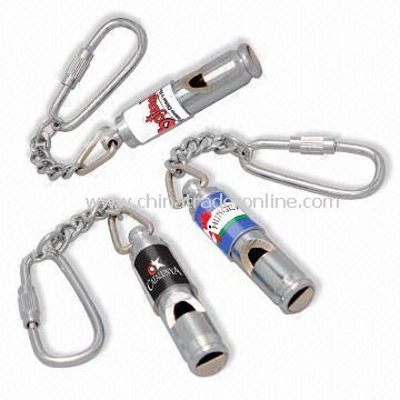 Metal Whistle, Used for Training/Cheer Party, EN71 Certified, Made of Aluminum