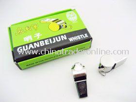 Plain Silver Whistles
