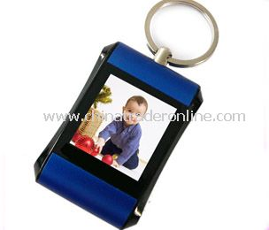 1.5 inch CSTN screen digital photo frame with keytag