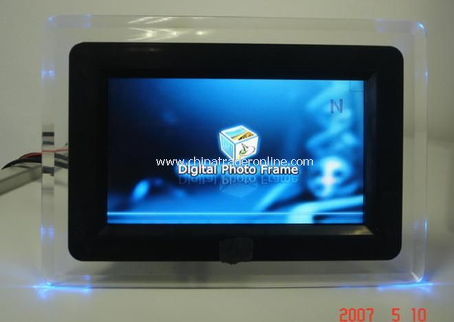7 inch LCD screen display Digital Photo Frame