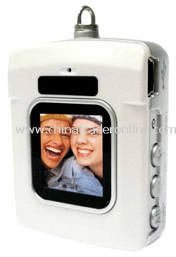 Mini Digital Photo Frame with MP3 player