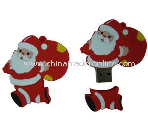 Santa Claus  usb flash drive from China