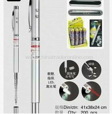 4 in 1 functions - Flashlight/Teaching/Laser Pointer/Ball Pen