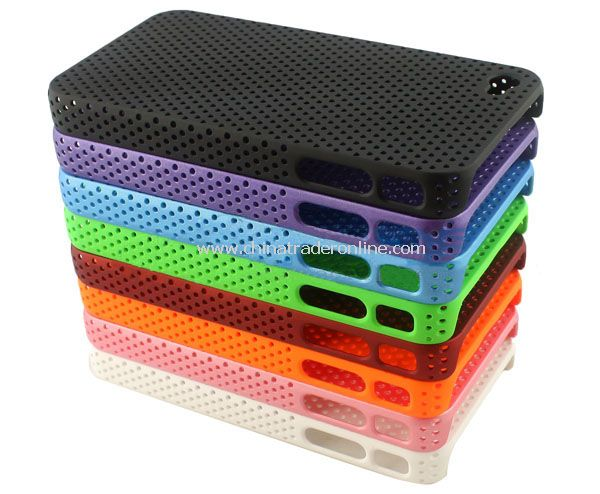 5PCS/Bulk Incase Perforated Snap Hard Case Cover for iPhone 4th