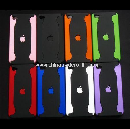 Chrome Hard Back Case Cover for Apple iPhone 4th - 8PCS/Bulk