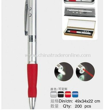 Red Laser Pointer Ball Pen